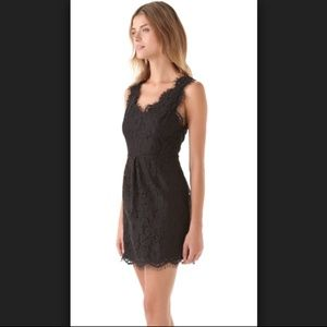 Joie Black Lace Dress size Medium